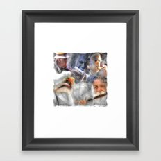 They Came To Play Framed Art Print