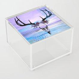 SkullandFlowerCrown Acrylic Box