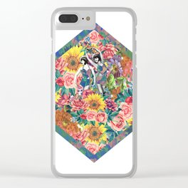 Flower Girls Clear iPhone Case