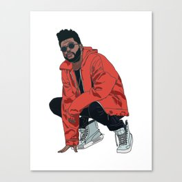 The Weeknd Canvas Print