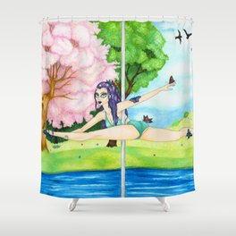 September 2017 Shower Curtain