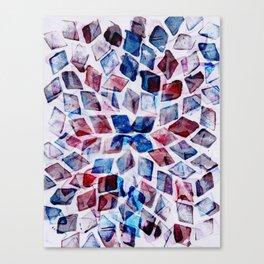 rhombus dance Canvas Print