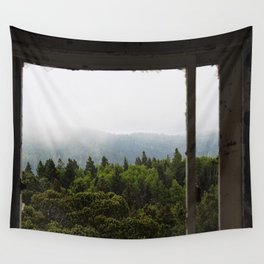 The Forest View Wall Tapestry