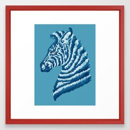SEAbra Framed Art Print