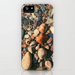 Ocean Pebbles iPhone Case