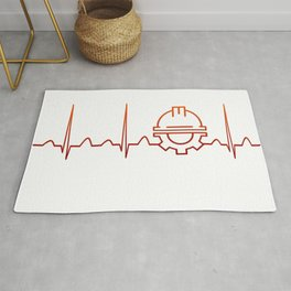 Engineer Heartbeat Rug