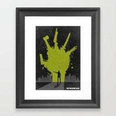 The Walking Dead Poster Framed Art Print