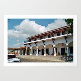 Suchitoto, El Salvador Art Print