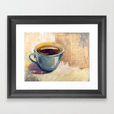 Morning Bliss Framed Art Print