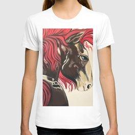 Cinnamon Horse by Noelles's Art Loft T-shirt
