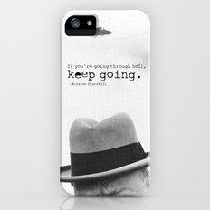 Churchill iPhone (5, 5s) Slim Case