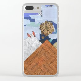 Magic Mountain Clear iPhone Case