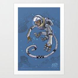 Astro Zodiac Force 09: Monkey Art Print