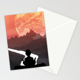 Let your fears run down the creek. Stationery Cards