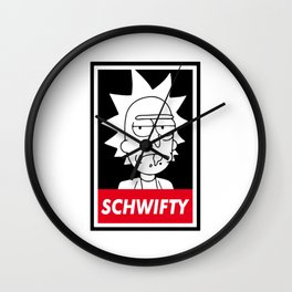 Rick and Mortys Schwifty Wall Clock