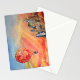 Hot Air Bloom Stationery Cards