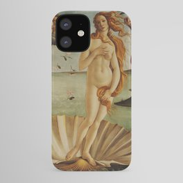 The Birth of Venus by Sandro Botticelli iPhone Case