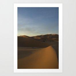Travel: Morocco Sahara Art Print