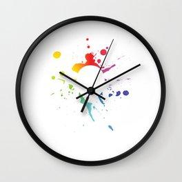 Paintball Helmet Paintball Player Marker Gift Wall Clock