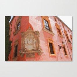 Coral Spain Canvas Print