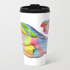 Rainbow fish by Elisavet | colorful #society6 Metal Travel Mug