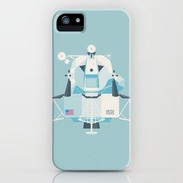 Apollo 11 Lunar Lander Module - Plain Sky iPhone Case