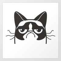 Grumpy Logo Art Print