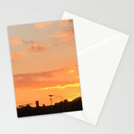 Sunset in Japan Stationery Cards