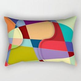 Abstract #303 Rectangular Pillow