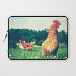 The Life of a Chicken Laptop Sleeve
