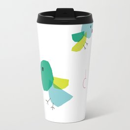Bird and japanese 'tori' Travel Mug