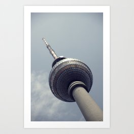 Berlin TV Tower Art Print
