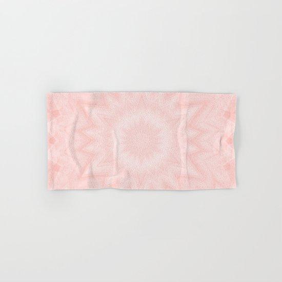 Pink starburst Hand & Bath Towel
