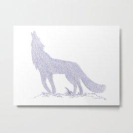 Coyote CREYES Metal Print