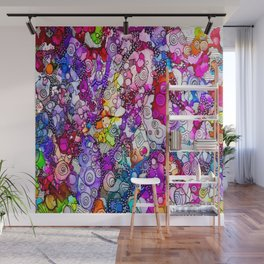 Heavenly Doodles  - Many Eyes Version 2 Wall Mural