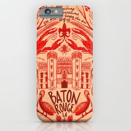 Baton Rouge iPhone Case