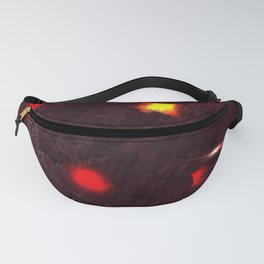 Large purple asteroid Fanny Pack