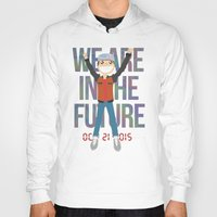holographic Hoodies featuring Marty McFly in the Future by Sebast Hoyos