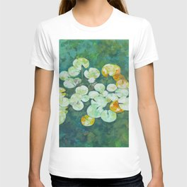 Tranquil lily pond T-shirt