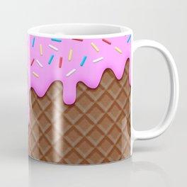Chocolate and Strawberry Icecream Coffee Mug