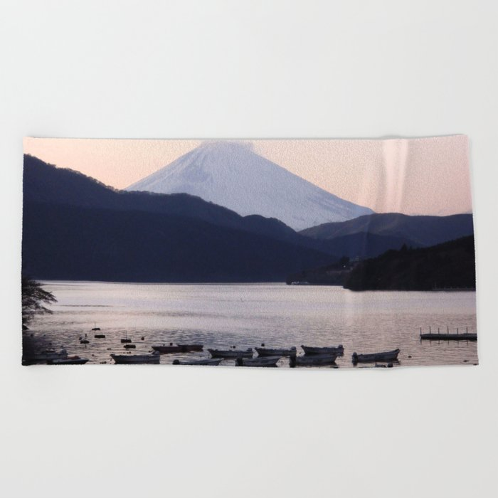 Lonely after Dark (Japan) Beach Towel
