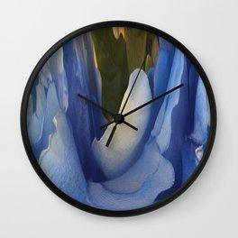 303 - Abstract Flower Design Wall Clock