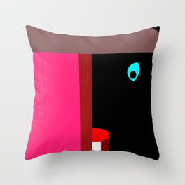 El Vigilante Throw Pillow
