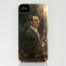 The Abyss Gazes Back iPhone (4, 4s) Slim Case