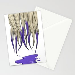 Dip Dye Stationery Cards