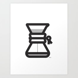 Pour Over Art Print