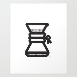 Pour Over Art Print