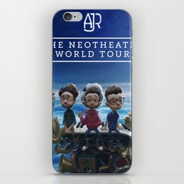 ajr neotheater world tour 2019 2020 baukencur iPhone Skin