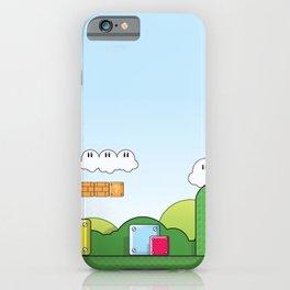 World of Mario iPhone Case