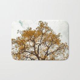 Yellow Tree Bath Mat